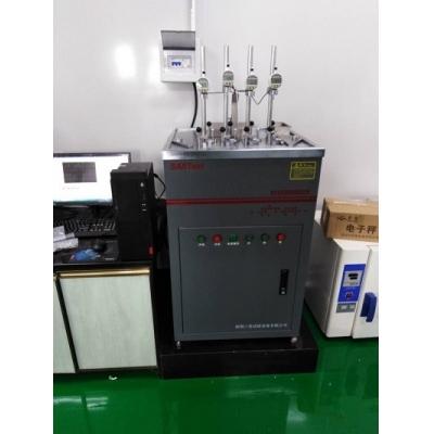 深圳三思-热变形维卡软化点试验机(客户试验室实拍图片)